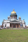 Cathedral of Saint Isaak in St Petersburg Stock Image