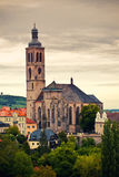 Cathedral Saint James in Kutna Hora Royalty Free Stock Photo