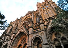 Cathedral of Saint John the Divine in Morningside Heights, NYC Stock Photography