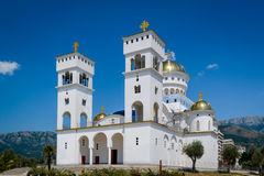Cathedral of Saint Jovan Vladimir in Bar Royalty Free Stock Image
