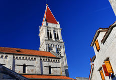Cathedral of Saint Lawrence in Trogir, Croatia Royalty Free Stock Photo
