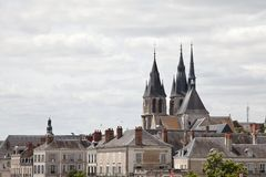 Cathedral Saint-Louis Blois France Royalty Free Stock Photo