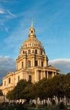 The cathedral of Saint Louis des Invalides, Paris, France. Royalty Free Stock Photography