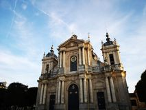 Cathedral Saint Louis in Versailles Stock Photo