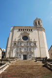 The Cathedral of Saint Marie in Girona Royalty Free Stock Photo