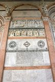 Cathedral Saint-Martin of Lucca Lucca Tuscany Italy royalty free stock photo