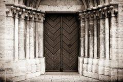 Cathedral of Saint Martin in Spisska Kapitula, Slovakia royalty free stock photo