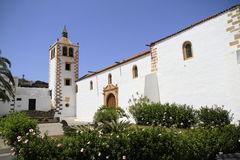 Cathedral of Saint Mary of Betancuria in Fuerteventura Royalty Free Stock Image