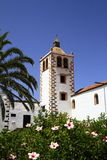 Cathedral of Saint Mary of Betancuria in Fuerteventura Royalty Free Stock Photo
