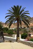 Cathedral of Saint Mary of Betancuria in Fuerteventura Royalty Free Stock Photography
