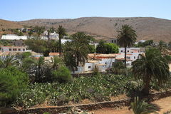 Cathedral of Saint Mary of Betancuria in Fuerteventura Stock Photography