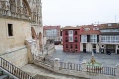 Cathedral of Saint Mary of Burgos Stock Photos