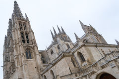 Cathedral of Saint Mary of Burgos Royalty Free Stock Photo