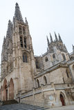 Cathedral of Saint Mary of Burgos Stock Image