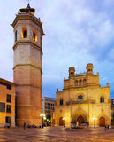 Cathedral of Saint Mary at Castellon Royalty Free Stock Photo