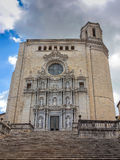 Cathedral of Saint Mary -Catedral de Santa Maria, Girona Stock Images
