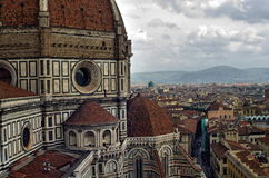 Cathedral of Saint Mary of the Flower. Florence Italy Stock Photos
