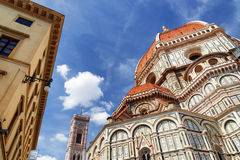 The Cathedral of Saint Mary of the Flower, Florence, Italy Stock Image