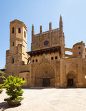 Cathedral of Saint Mary Huesca Stock Photography