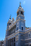 Cathedral of Saint Mary the Royal of La Almudena Royalty Free Stock Photography