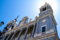 Cathedral of Saint Mary the Royal of La Almudena Stock Photos