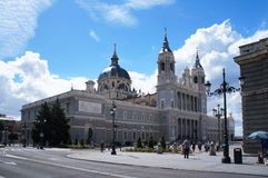 Cathedral of Saint Mary the Royal of La Almudena Stock Photography