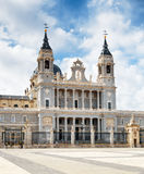 Cathedral of Saint Mary the Royal of La Almudena Royalty Free Stock Images