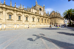 The Cathedral of Saint Mary of the See in Seville Stock Photography