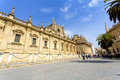 The Cathedral of Saint Mary of the See in Seville Royalty Free Stock Image
