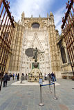 The Cathedral of Saint Mary of the See in Seville Stock Photo