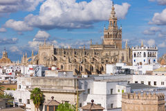 The Cathedral of Saint Mary of the See in Seville Stock Image