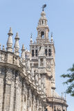 The Cathedral of Saint Mary of the See (Seville Cathedral) in Se Royalty Free Stock Images