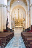 Cathedral of Saint Mary Tarragona in Spain Stock Image