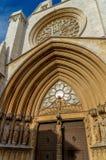 Cathedral Saint Mary. Tarragona Cathedral (13th Century). Tarragona. Catalonia.Spain Stock Photo