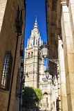 Cathedral of Saint Mary of Toledo, Spain Stock Photography