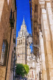 Cathedral of Saint Mary in Toledo, Spain Stock Image