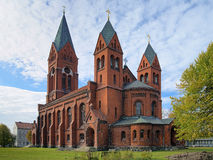 Cathedral of Saint Michael Archangel in Chernyakhovsk, Russia Royalty Free Stock Photo