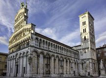 Cathedral of Saint Michele, Lucca, Italy, Royalty Free Stock Photos