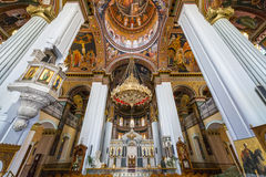 Cathedral of Saint Minas in Heraklion, Crete Royalty Free Stock Photos