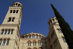 Cathedral of saint Nectarios Royalty Free Stock Photography