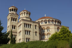 Cathedral of saint Nectarios Stock Images