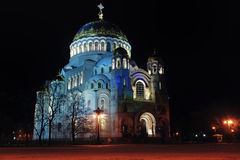 Cathedral of Saint Nicholas in Kronstadt Royalty Free Stock Photography