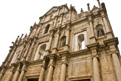 Cathedral of Saint Paul, Macau Royalty Free Stock Image