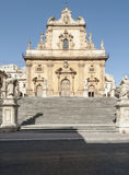 Cathedral of saint peter modica ragusa sicily Italy europe Royalty Free Stock Image