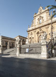 Cathedral of saint peter modica ragusa sicily Italy europe Royalty Free Stock Photography