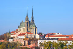 Cathedral of Saint Peter and Paul in Brno Royalty Free Stock Photography