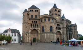 Cathedral of Saint Peter  in Trier, Royalty Free Stock Image