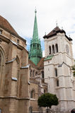 Cathedral Saint Pierre in Geneva Royalty Free Stock Photo