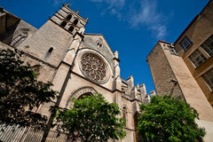 Cathedral Saint Pierre in Montpellier Royalty Free Stock Images
