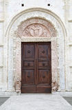 The Cathedral of Saint Rufino, Assisi, italy Royalty Free Stock Photos